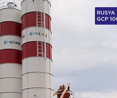 Russia: GCP 100 CT Compact Concrete Mixing Plant has been delivered